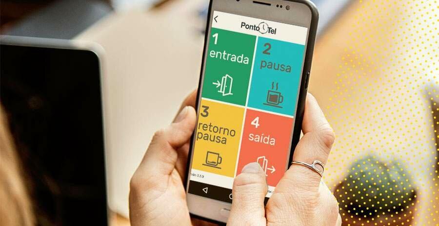 cartao de ponto digital celular