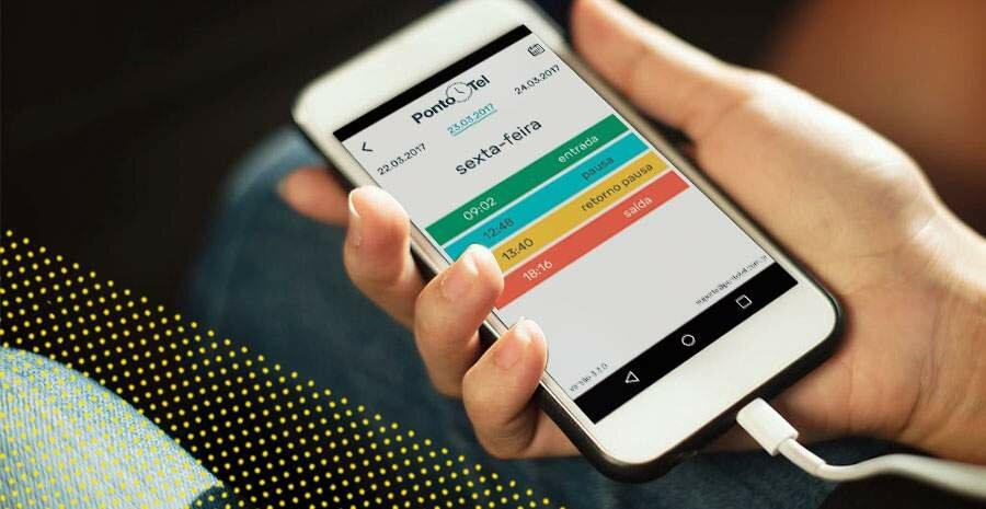 banco de horas reforma trabalhista controle de ponto preciso no celular