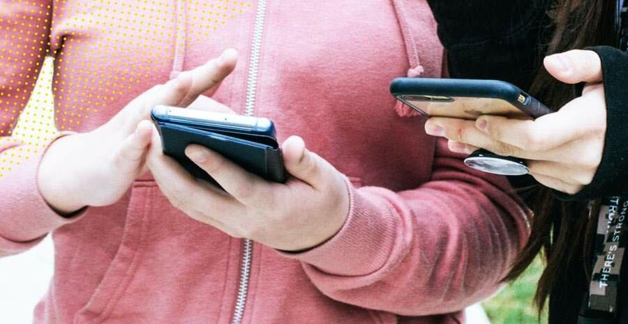 controle de ponto pelo celular qualquer celular